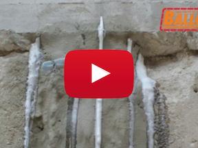 Impermeabilizzazione con iniezione di resine idroattive